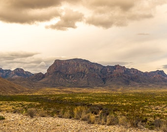 Big Bend West Texas Fine Art Print