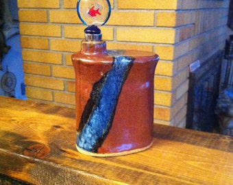 Liquor/Liquid Flask - Pottery