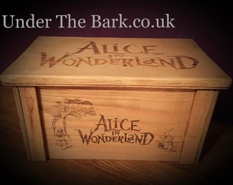 Alice in wonderland Chest box limited edition only 50 being made