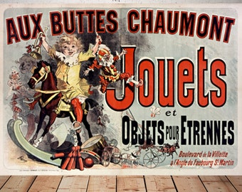 Friends Tv Show Poster, Friends tv gift, Aux Buttes Chaumont Jouets, rachel Monica apartment poster, friends wall art, best friend tv gift