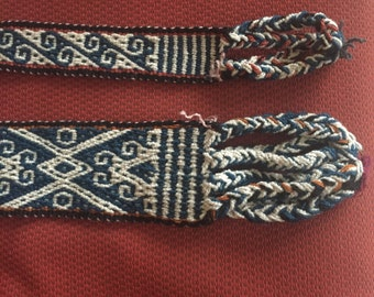 Peruvian Embroidered Dog Collar