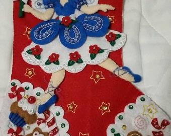 Bucilla Fairy Ballerina Stocking