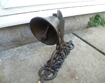 Cast Iron Fish Door Bell