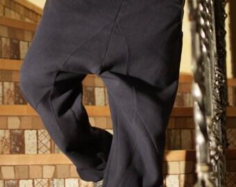 Trousers sporting a cut