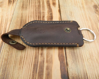 Leather key case, Mens leather key fob, Leather key ring, Key case wallet, Leather key pouch, Leather key organizer, Leather key wallet