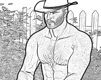Printable Bachelorette Party Coloring Page Country Music