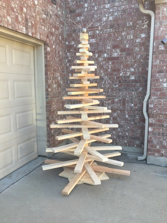 Items similar to Large Wooden Christmas Tree on Etsy