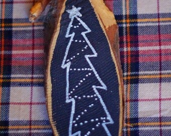 Tree Chalkboard Ornament