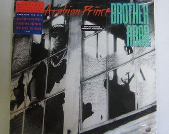 Arabian Prince Brother Arab Vinyl Record LP 1989 Orpheus D175614 NWA New Sealed