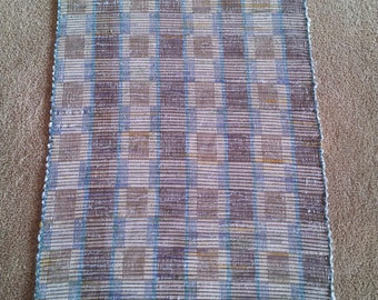 Handwoven Rag Rug - Naturals/Taupe/Multi