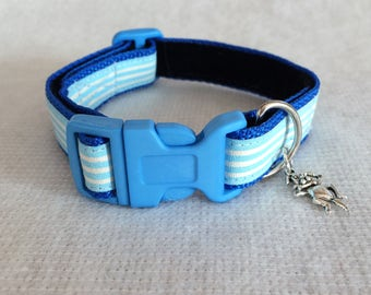 Dog collar with charm
