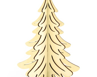 Christmass tree birch