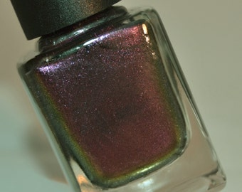 Nola Charm - Purple Multichrome Color Shifting Sparkle Nail Polish