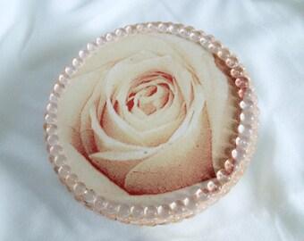 Z Beauty rose decoupage box