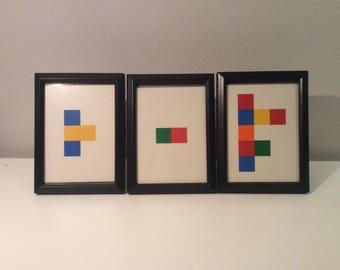 Flashcard Prints Framed