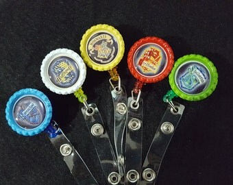 Harry Potter Badge Reels