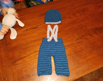 Crochet Baby boy outfit