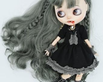 "OOAK Custom Blythe Doll ""The Vampire"" By FreakyRoom , OOAK Custom Blythe Doll"