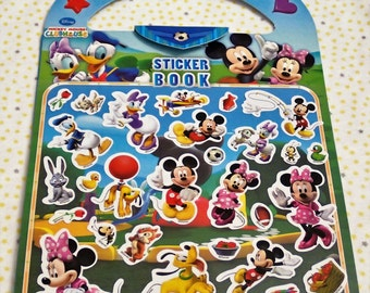 Disney Mickey Mouse ClubHouse Sticker Book Set