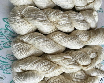 Dk - CREATE YOUR Own YARN!! 50 Superwash Merino/50 Silk, Beautiful sheen and drape, 385 yds