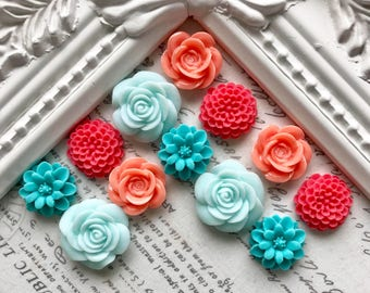 Bright Flower Magnets Or Pushpins, Decorative Magnets Or Thumbtacks, Floral Magnets, Kitchen Fridge Magnets, Decorative Pushpins