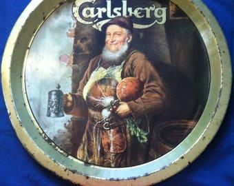 Vintage Carsberg Beer Tray