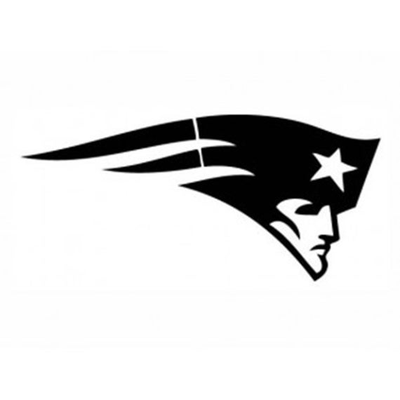 Vinyl Decal Sticker - New England Patriots Decal for Windows, Cars, Laptops, Macbook, Yeti, Coolers, Mugs etc