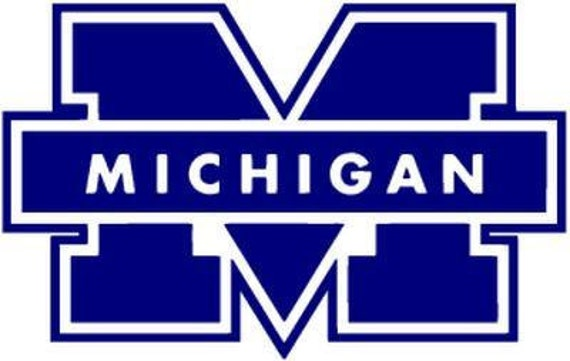 Vinyl Decal Sticker - Michigan Wolverines Decal for Windows, Cars, Laptops, Macbook, Yeti, Coolers, Mugs etc