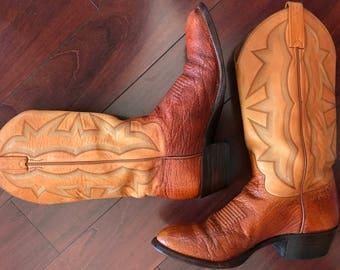El Dorado Handmade Premium Leather Boots Size 8US Women