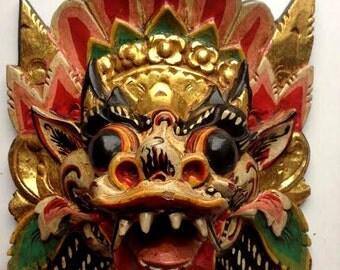 indonesian devil mask