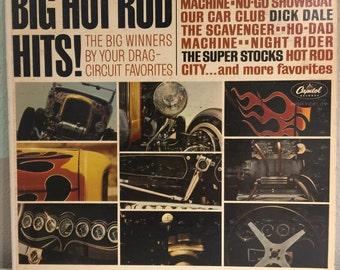 Big Hot Rod Hits Vinyl