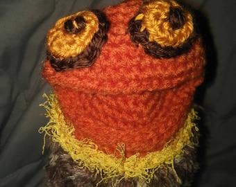 Crochet hand puppet 'suki'