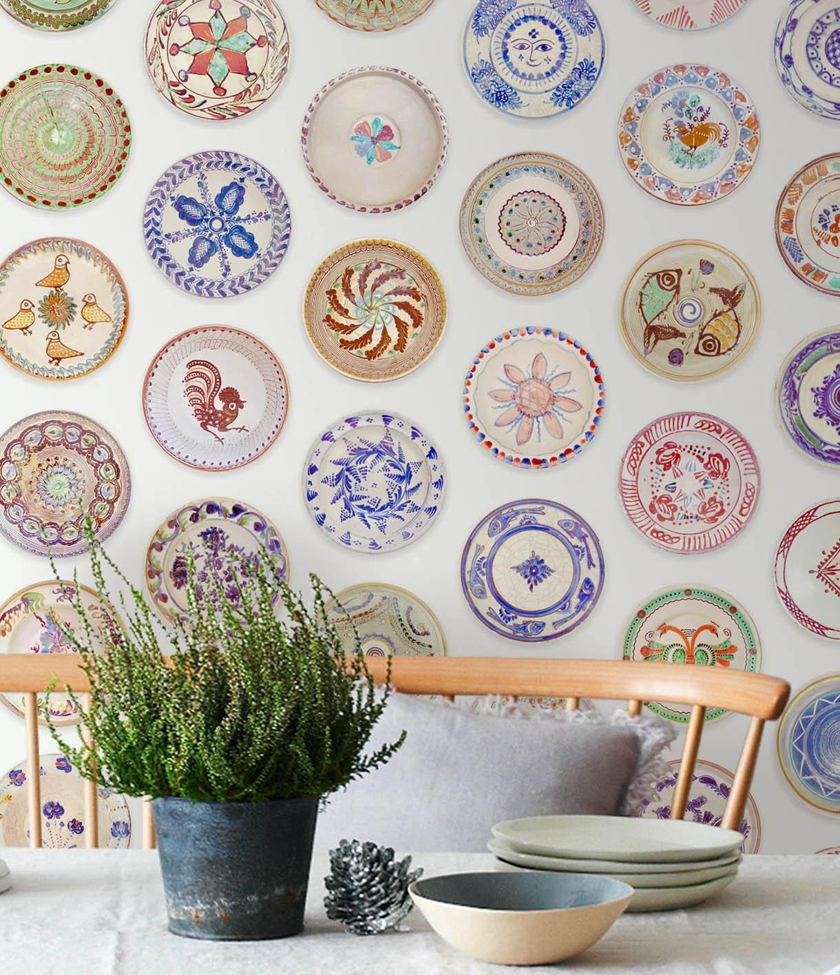 Kitchen Wallpaper Designs Kitchen Wallpaper Etsy