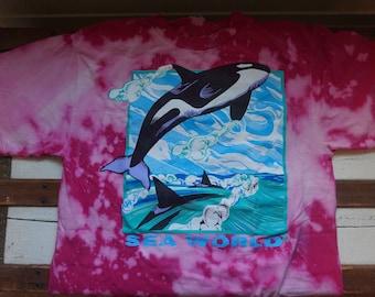 Sea World Shirt (bleached)