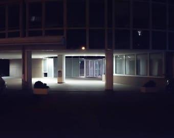 "night # 12-20 x 30 cm. Series ""at rest"""