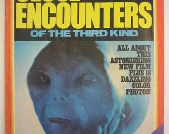 Close Encounters of the Third Kind - Official Authorized Edition - Magazine - Dreyfuss - Spielberg