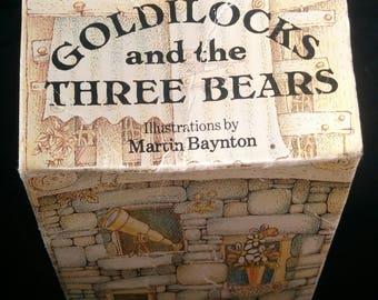 Goldilocks and the Three Bears By Martin Baynton Hardcover 1982