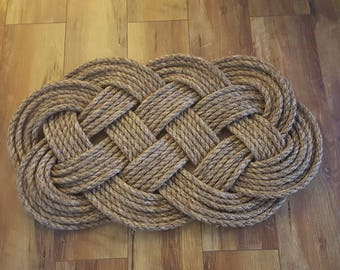 Outdoor Nautical Rope Rug