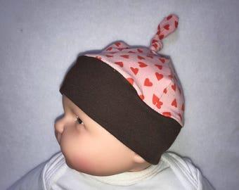 Baby Cap first heart