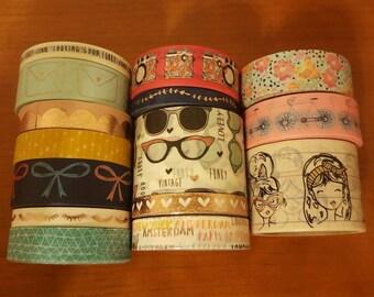 "24"" Paper Studio brand washi tape samples"