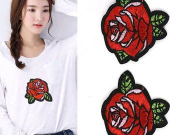 Beatiful Embroider small ROSE