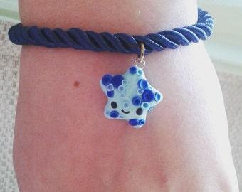 Bracelets with Seastar, Mochi Rabbit, Cupcakes