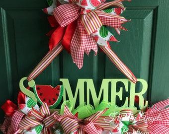 Summer Door Wreath, Wreath for Door, Housewarming Gift, Summer Sign