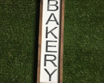 Bakery sign - kitchen decor - kitchen sign