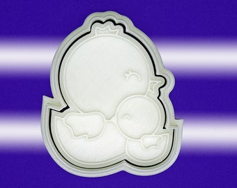 Hen and Chick Cookie Cutter