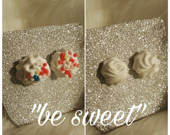 "Earrings ""be sweet"" set/birthday/mother's day/wedding/candy/kawaii/Lolita/icecream"