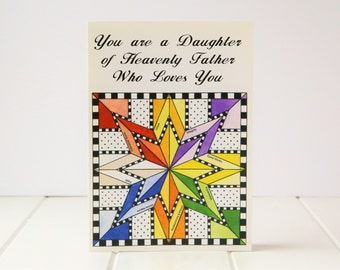 Young Women's Greeting Card - We love you!