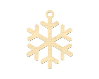 Snowflake Ornament- Laser Cut Ornament-Christmas Ornament- DIY Ornament
