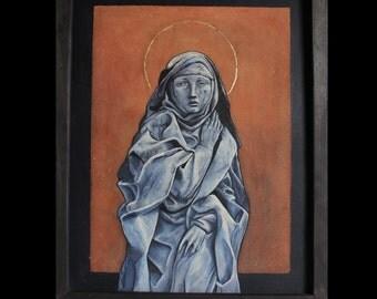 "Gothic Painting ""SACRA VITA"""