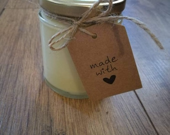 Scented soy candles (medium)